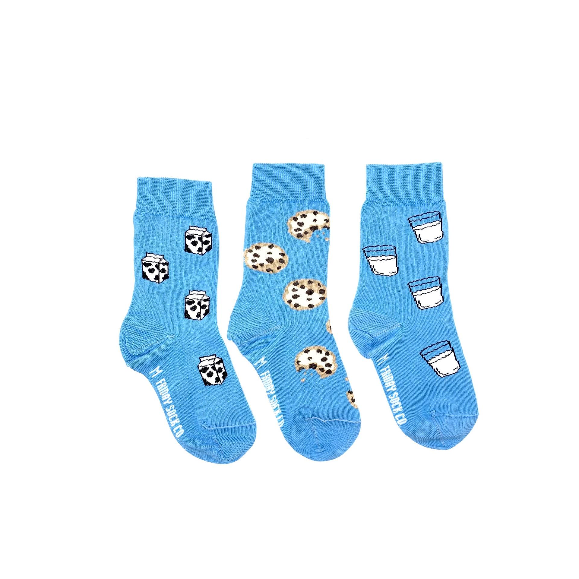 Kid's Milk & Cookie Socks