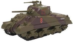 Oxford #76SM003 1/76 Sherman Tank Mk.III