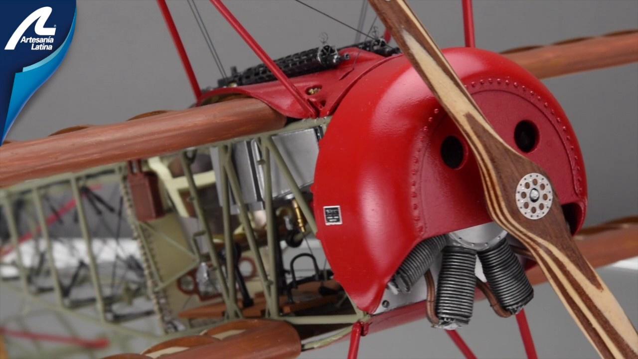 Artesania #ART20350 1/16 Fokker Dr1 Red Baron Kit