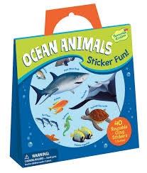 OCEAN ANIMALS STICKER FUN!