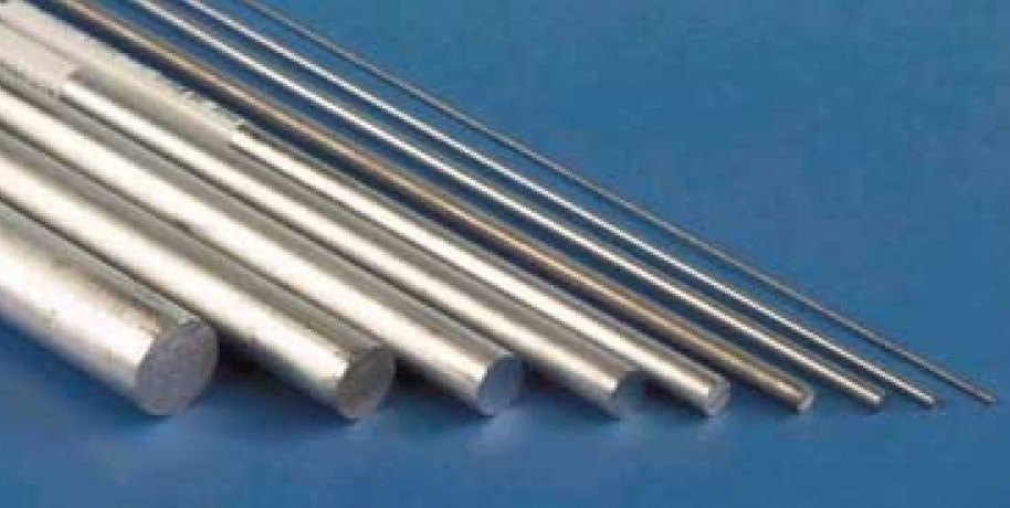 K&S #83043 Aluminium Rod 1/8 (3.18mm) 1pc