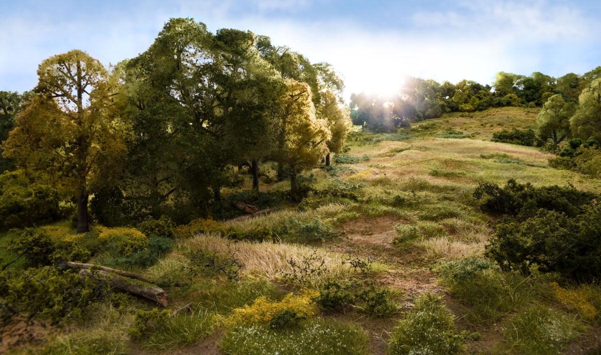 Woodlands Scenic #FS619 Static Grass Light Green 4mm