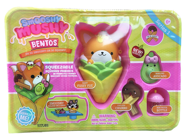 SMOOSHY MUSHY PLASTIC BENTO BOX