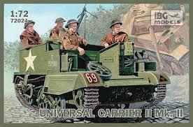 IBG Models #72024 1/72 Universal Carrier II Mk II