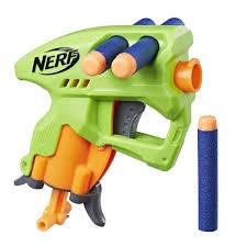 NERF N-STRIKE NANOFIRE GREEN