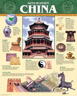 CTP 5558 GIFTS OF ANCIENT CHINA CHART