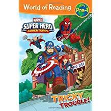 MARVEL SUPER HERO ADVENTURES TRICKY TROUBLE LV PRE-1 (PB)