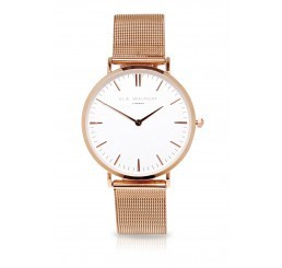 Elie Beaumont Watch Large Rose Gold Metal