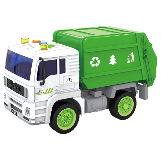 1:20 LIGHT & SOUND INERTIAL SANITATION TRUCK