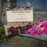GOATS MILK SOAP - ROSE ROMANCE