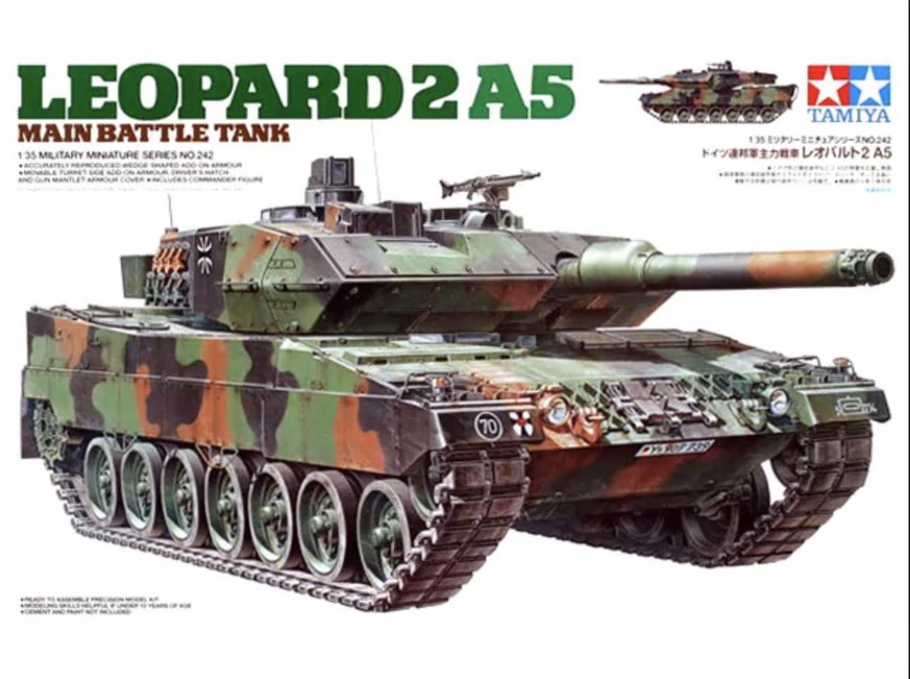 Tamiya #35242 1/35 Leopard 2A5 Tank