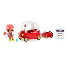 L.O.L SURPRISE FURNITURE COZY COUPE WITH DOLL