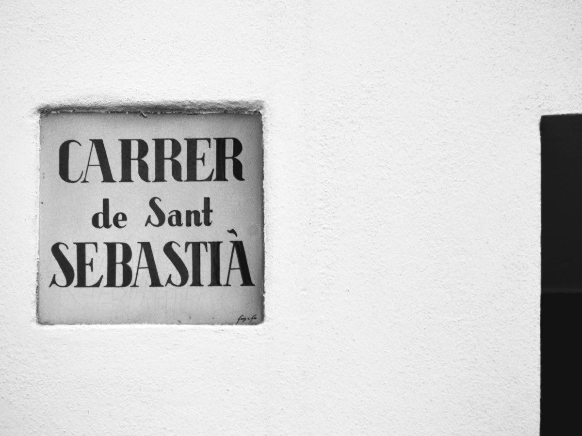 Carrer de Sant Sebastia