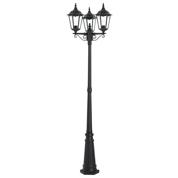 Burford lamp post IP44 60W floor - matt black