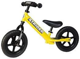 STRIDER BIKE SPORTS YELLOW