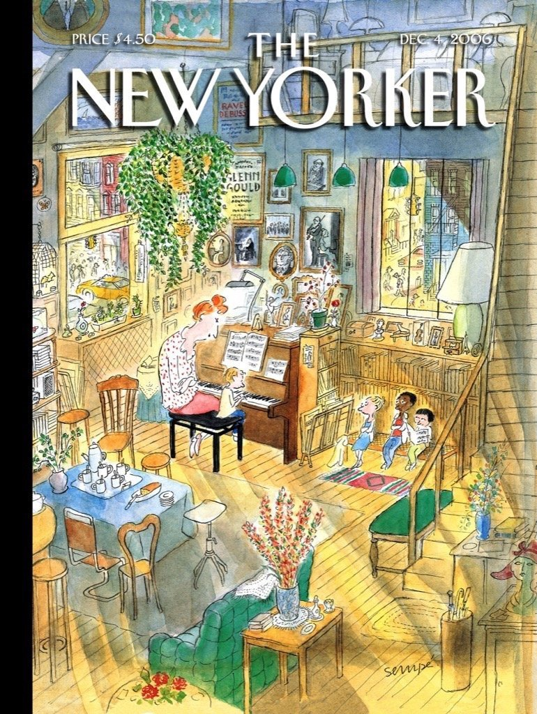 THE NEW YORKER THE PIANO LESSON
