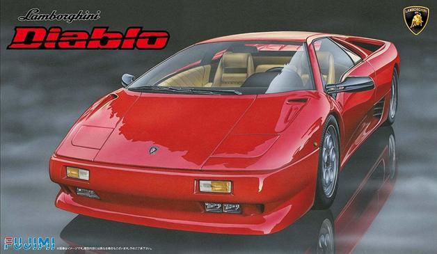 Fujimi #126418 1/24 Lamborghini Diabio