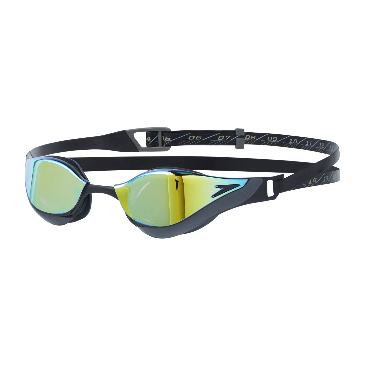 Fastskin Pure Focus Mirror Goggles Black/Gold