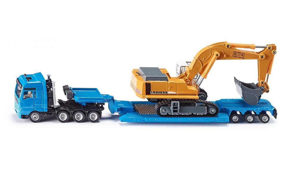 HEAVY HAULAGE TRANSPORTER WITH