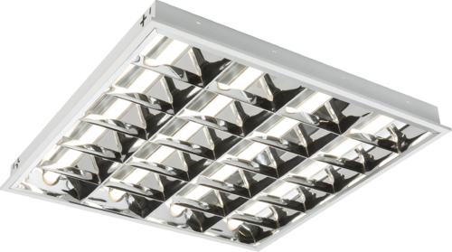 230V IP20 32W LED CAT2 Recessed Modular Fitting 600x600mm 6000K