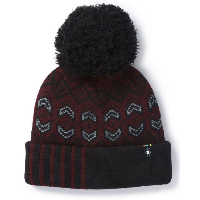 SMARTWOOL - CRYSTAL RIDGE PALM HAT IN FIG HEATHER