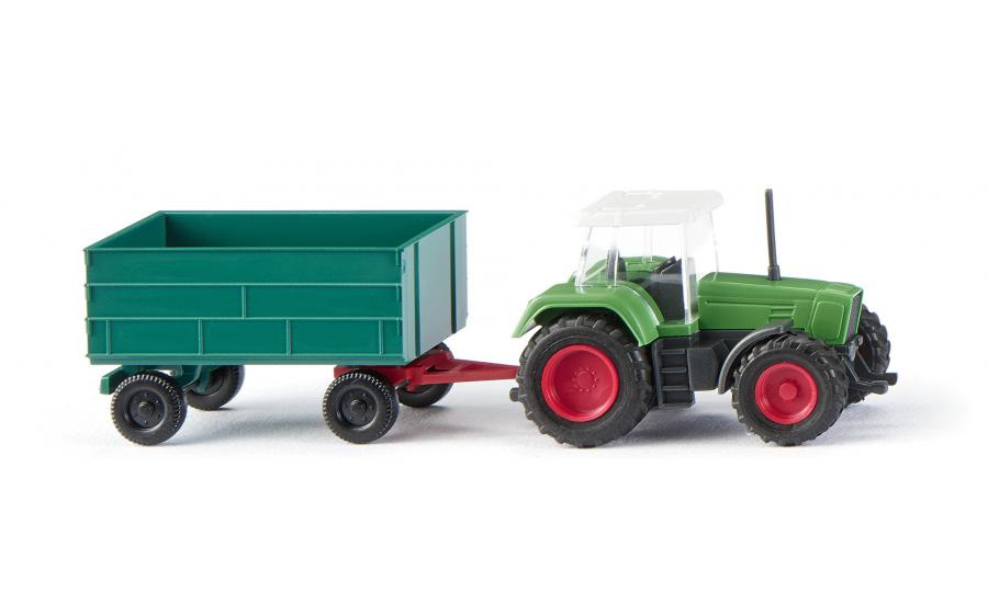 Wiking #0960 1:160 Fendt Favorit with trailer