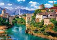 OLD BRIDGE IN MOSTAR PUZZLE 500 PCS