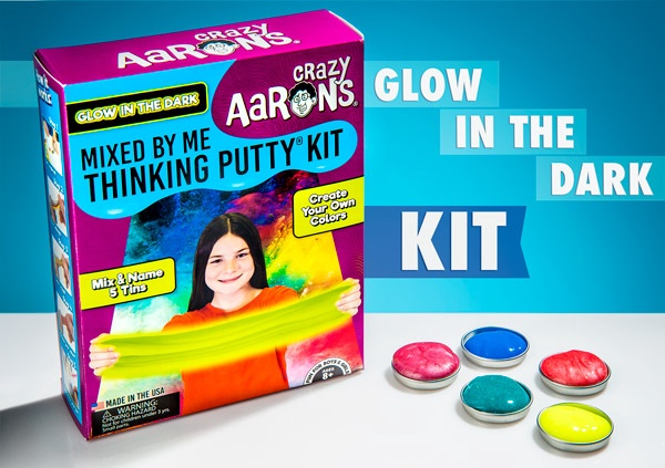 CRAZY AARON'S THINKING PUTTY KIT MIXED BY ME
