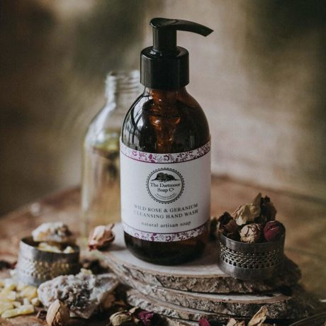 Dartmoor Soothing Hand and Body Wash - Wild Rose and Geranium 250g