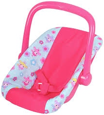 DOLL'S WORLD CAR SEAT CARRIER