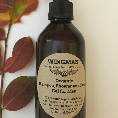 'Wingman' 3 in1 Shampoo, Shower and Shave Gel 'Wingman' 3 in1 Shampoo, Shower and Shave Gel