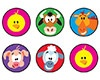 T 46162 FARM FRIENDS SPOTS STICKERS