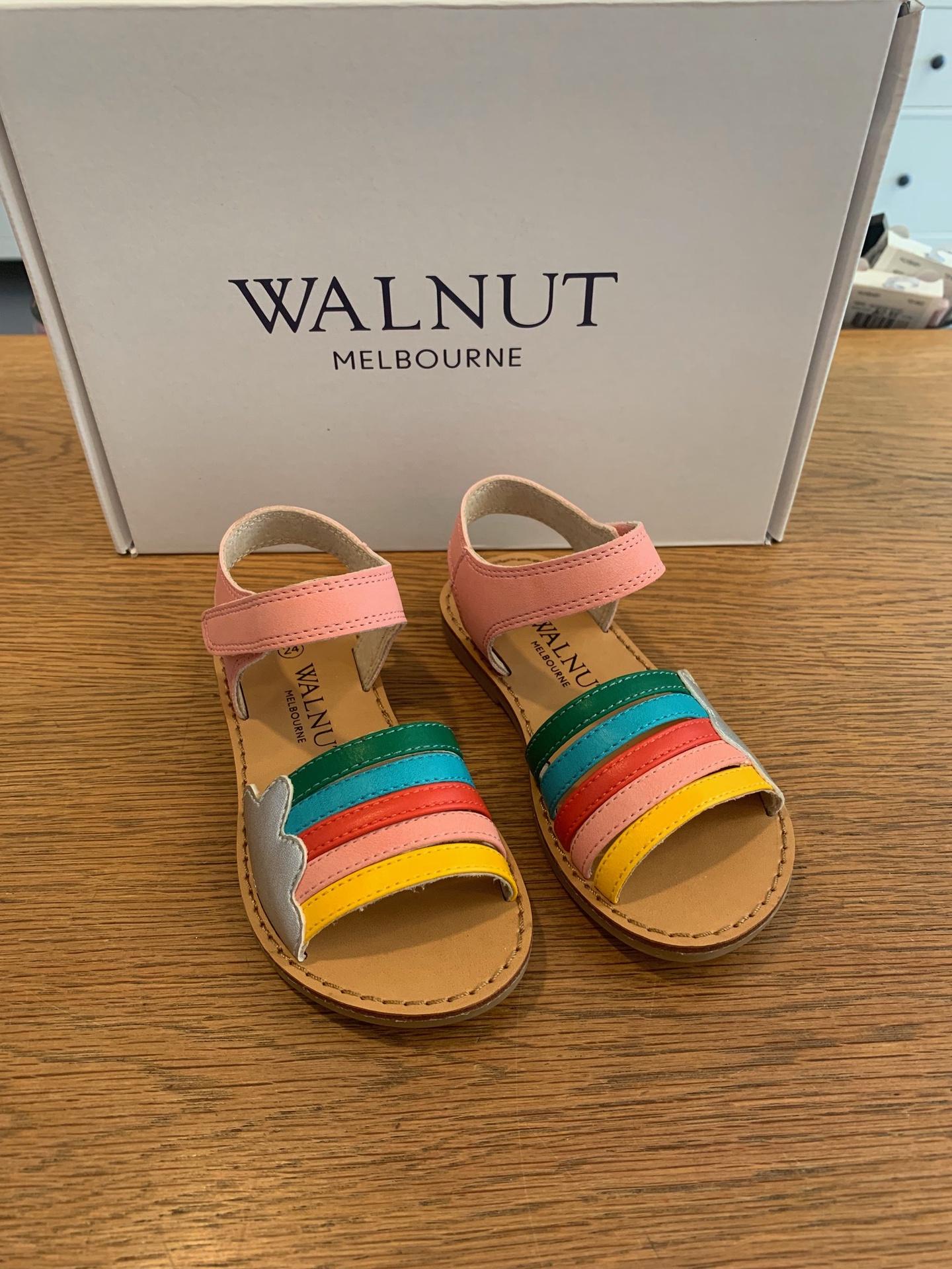Walnut Rainbow Sandal Multi