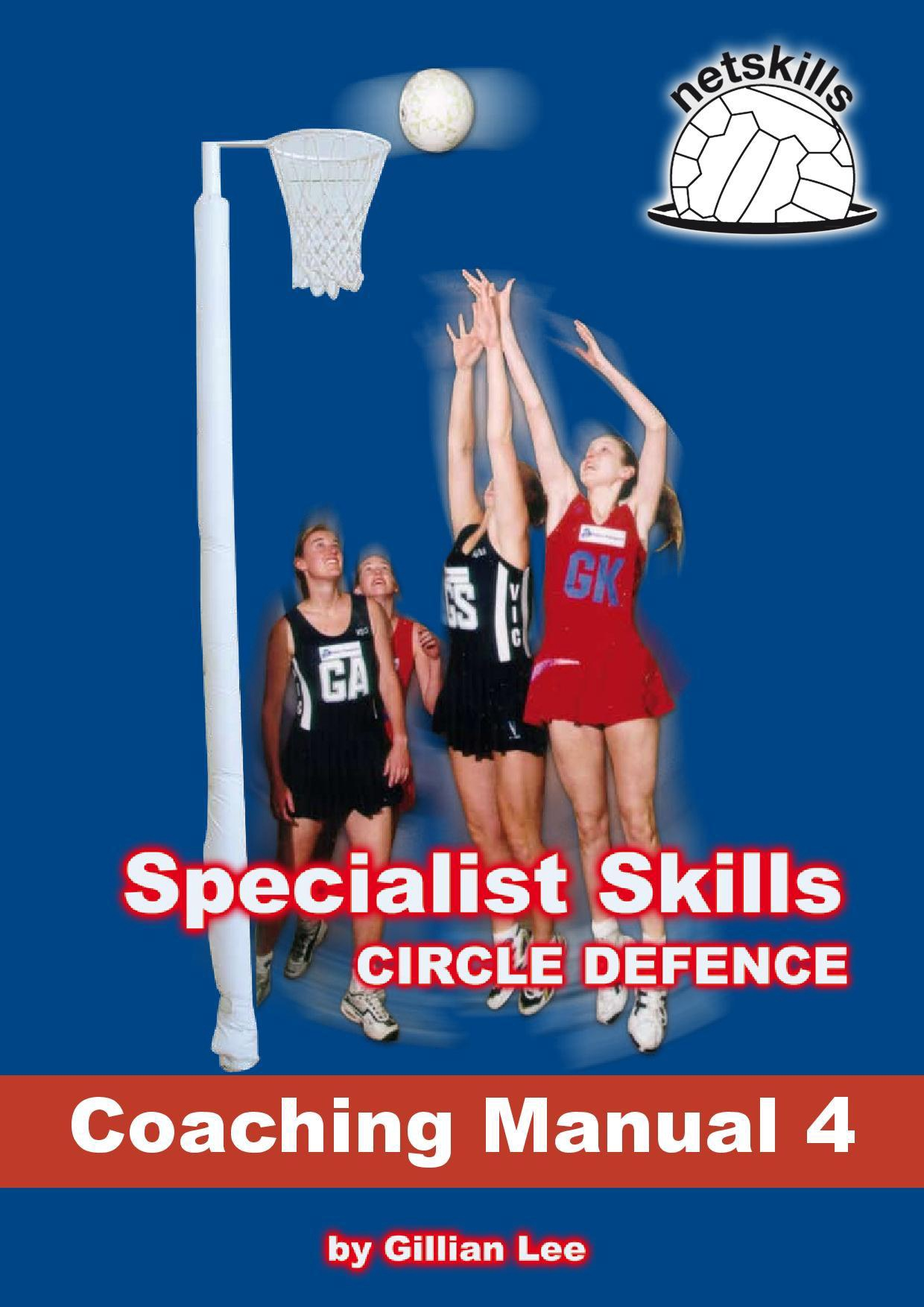Netskills Coaching Manual 4 - Specialist Skills Circle Defence