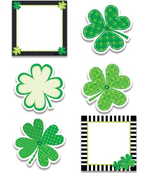 CTP 3896 HAPPY ST. PATRICK'S DAY CUTOUTS