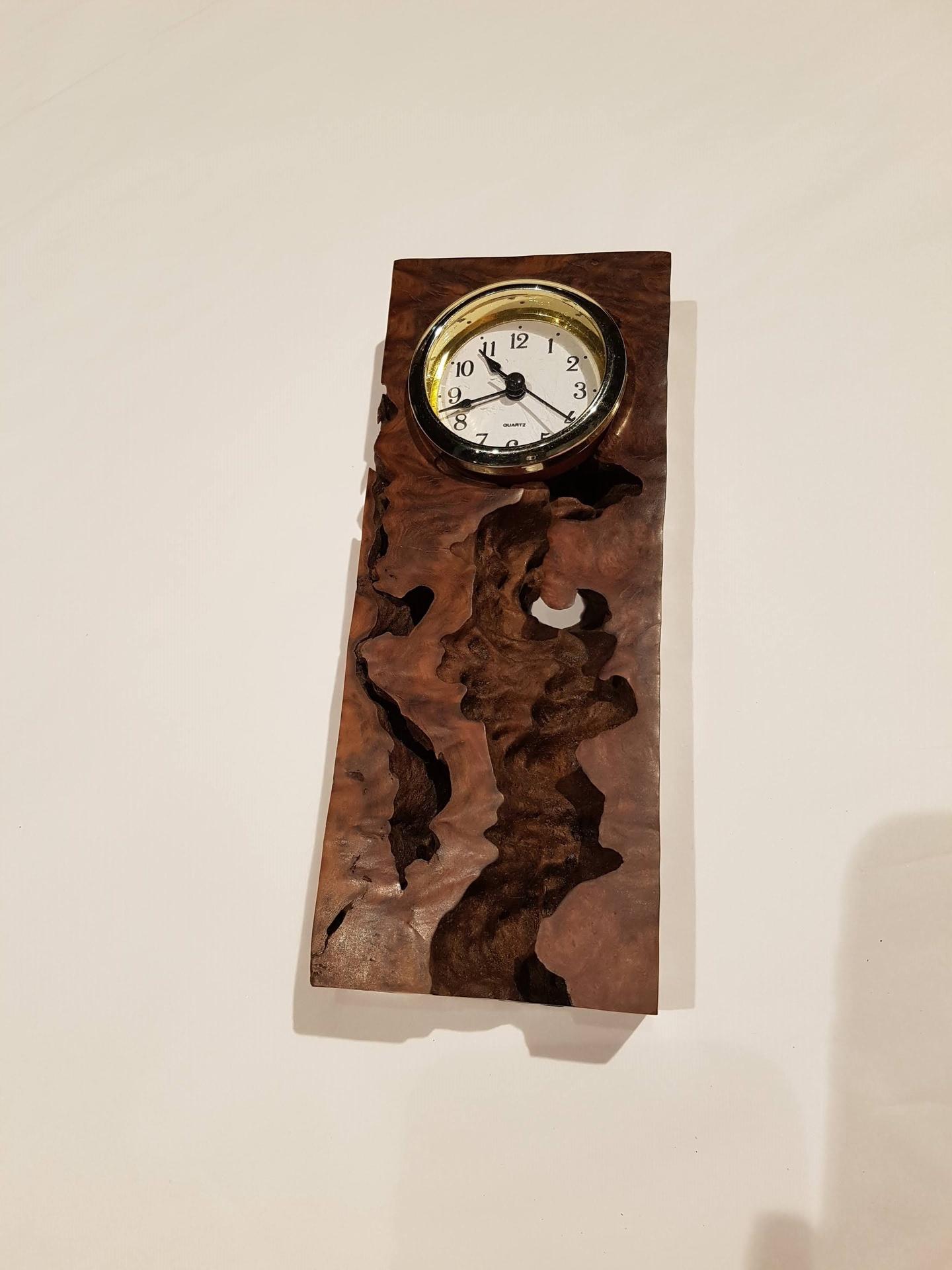 Gimlet Wood Clock