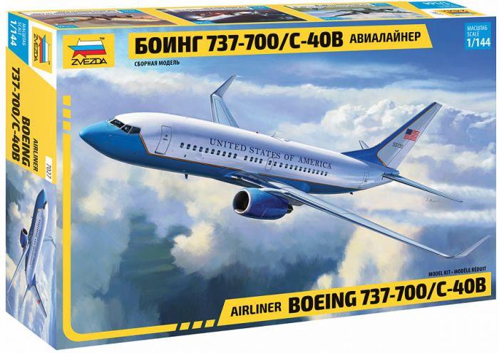 Zvezda #7027 1/144 Boeing 737-700/C-40B