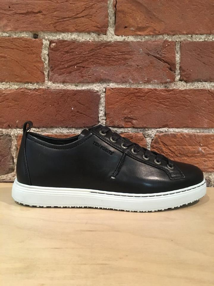 TEN POINTS - AGATHON 7 EYE SNEAKER IN BLACK