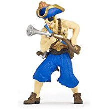 PAPO PIRATE WITH BLUNDERBUSS GUN