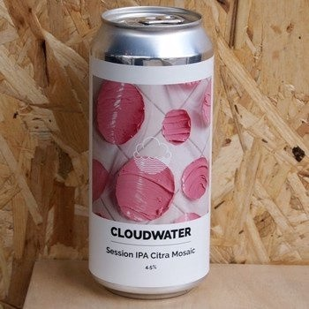 Cloudwater - Session IPA Citra Mosaic - 4.5% (440ml)