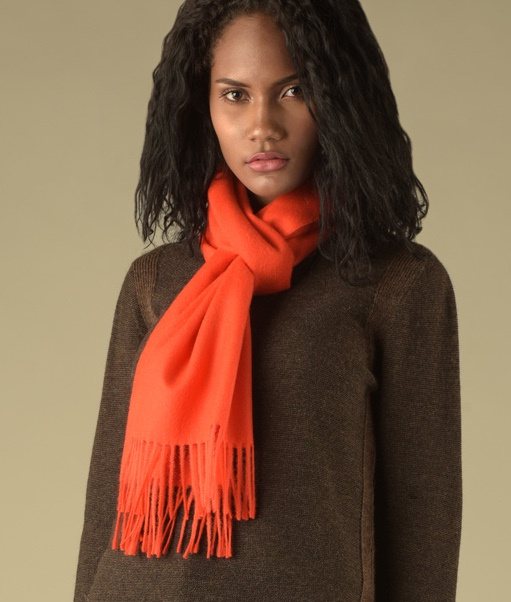 LONG BRUSHED SCARF RJ6301
