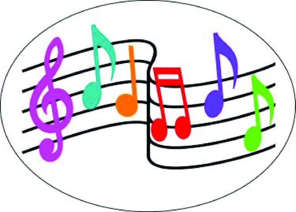AP 10042 MAG ERASER MUSIC NOTES