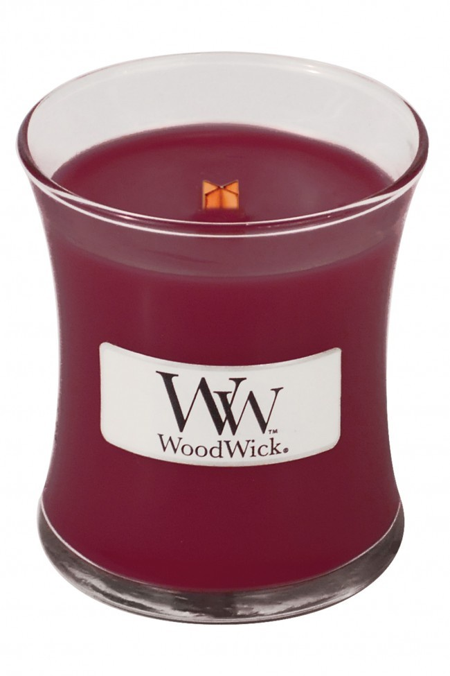 Medium Crackling Candle Cherry Bark WoodWick