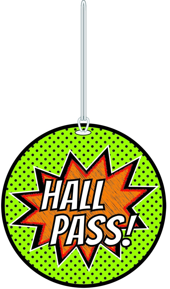 X DC AP 10454 PASS SUPERHERO HALL