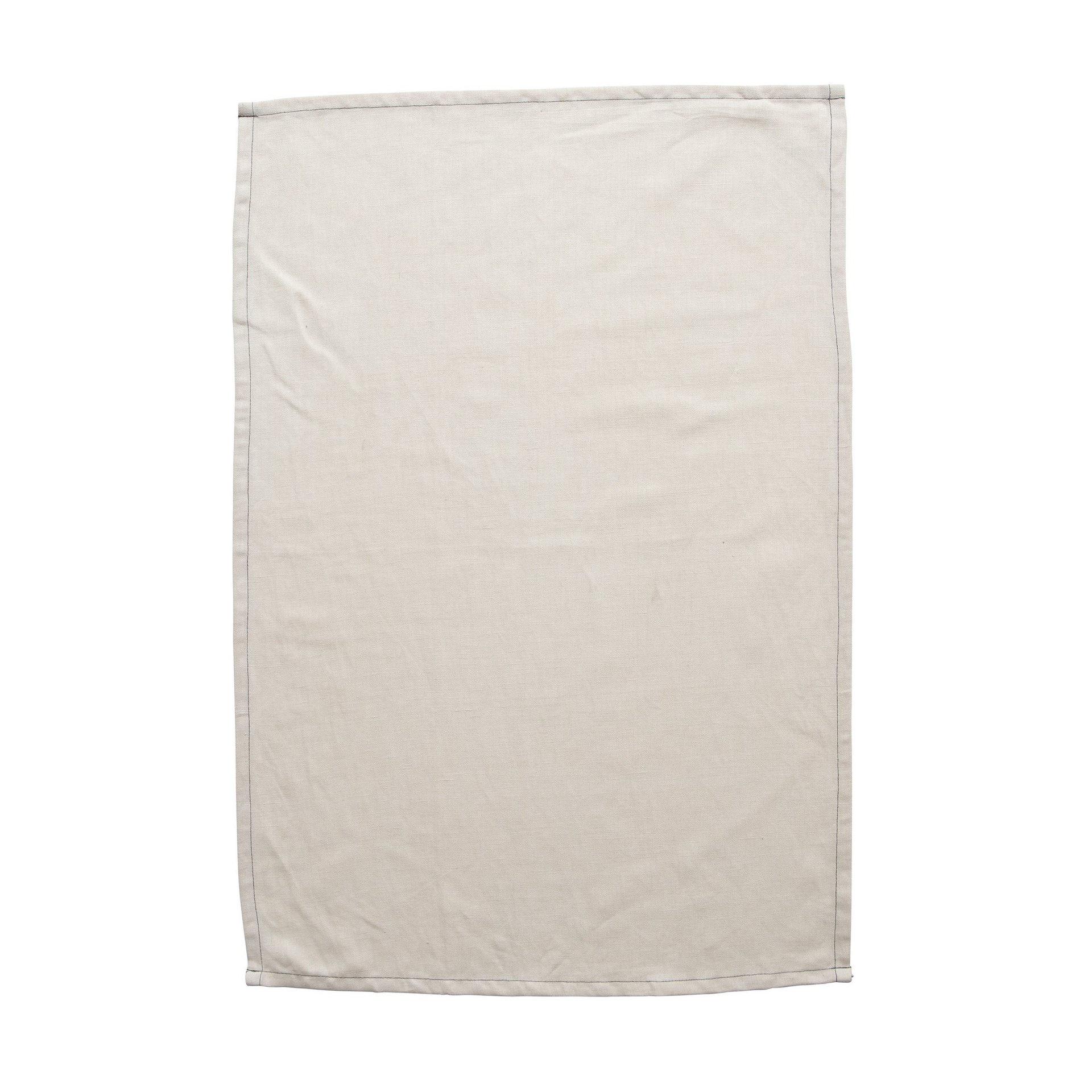 Milk & Sugar Blush Tea Towel