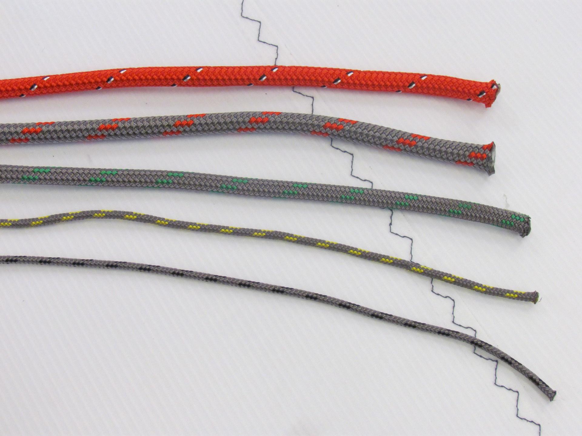 2.0MM Falcon Braid Polyester Cover Dyneema SK75 Core (B.L. 141Kgs)