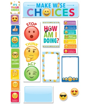 CTP 0596 EMOJI BEHAVIOR CLIP CHART MINI BBS
