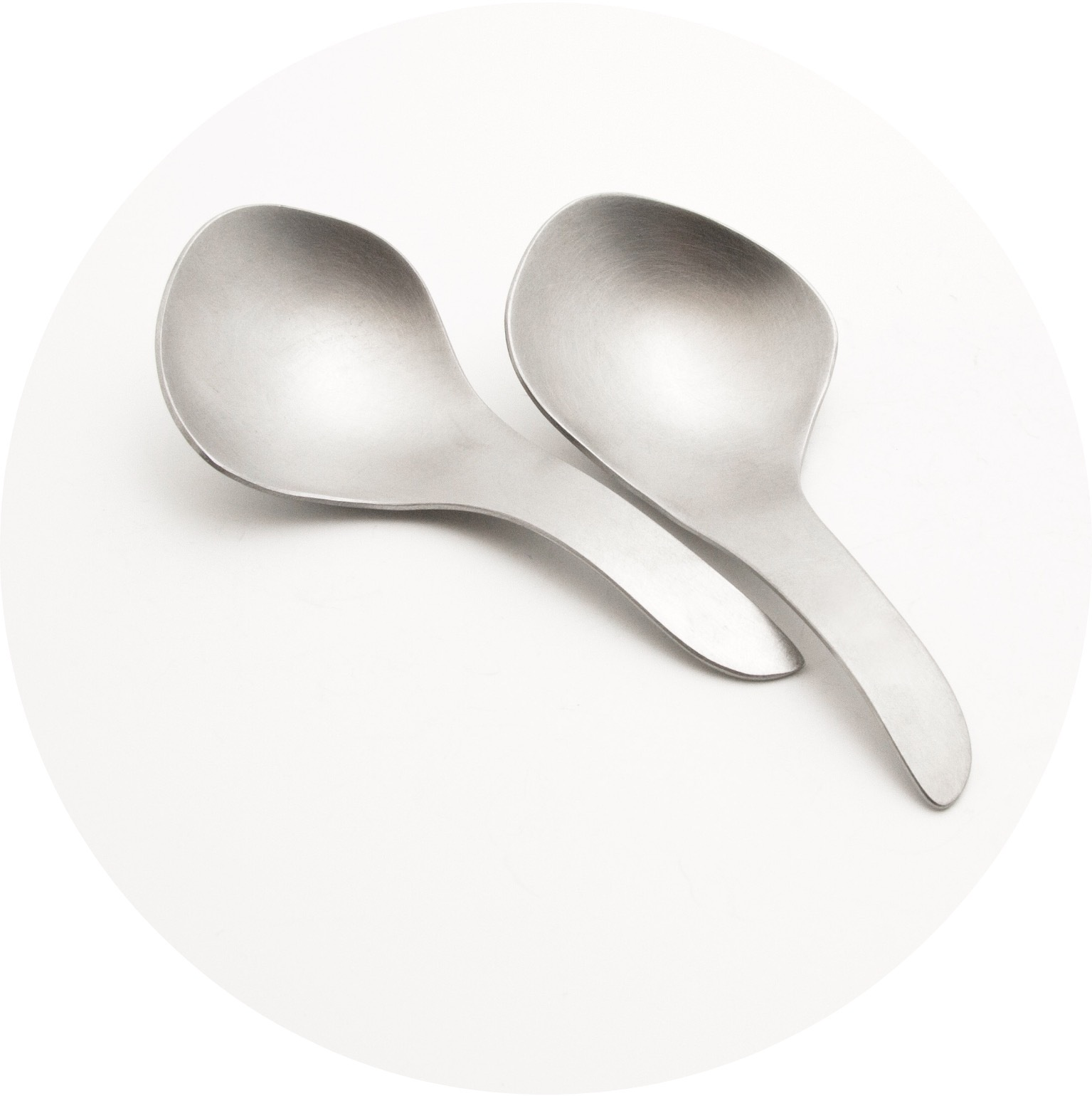 Alison Jackson– Little spoons. Stainless steel (set of 2)