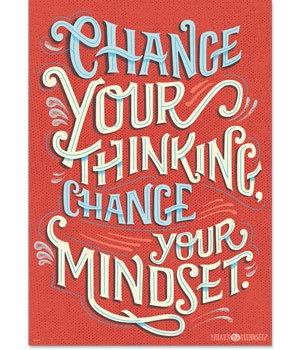 CTP 7283 CHANGE YOUR THINKING...INSPIRE U POSTER