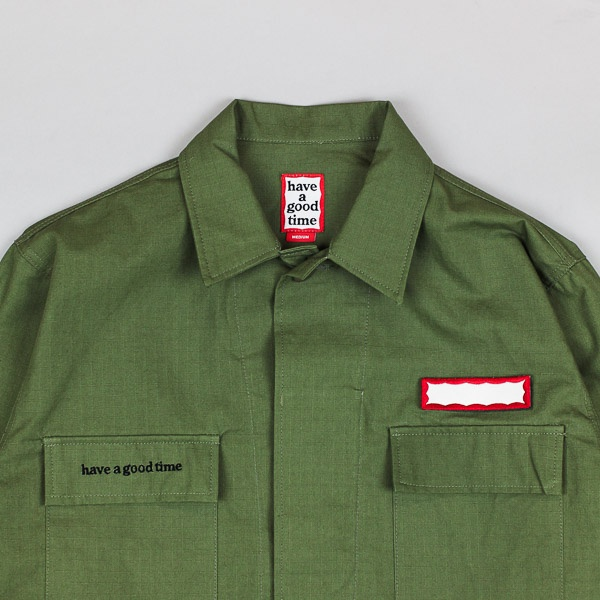 Have A Good Time Ripstop Army Shirt Jacket